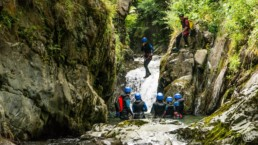 Canyon de Marc saut Ariège