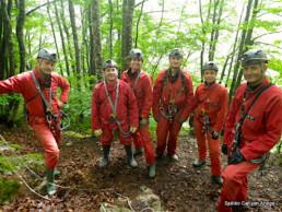 Voyage sous terre spéléo entre amis - Speleo Canyon Ariege