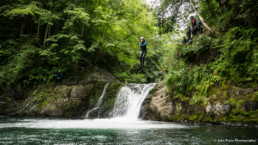 Argensou canyoning Jump - Speleo Canyon Ariege