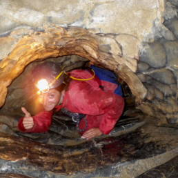 Canyon souterrain en Ariege - Speleo Canyon Ariege