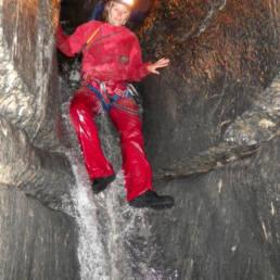 Canyon souterrain toboggan - Speleo Canyon Ariege