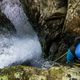 Subra Canyoning training - Speleo Canyon Ariege