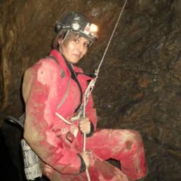 Voyage sous terre descente de gouffre - Speleo Canyon Ariege