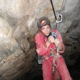 Voyage sous terre remontée sur corde - Speleo Canyon Ariege