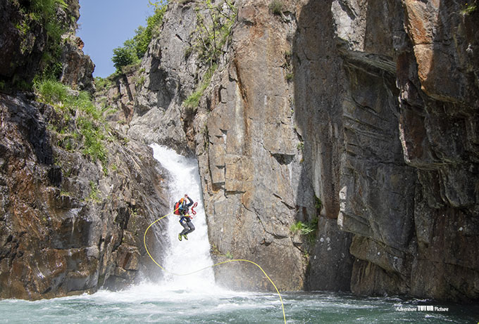 artigue canyon saut sport