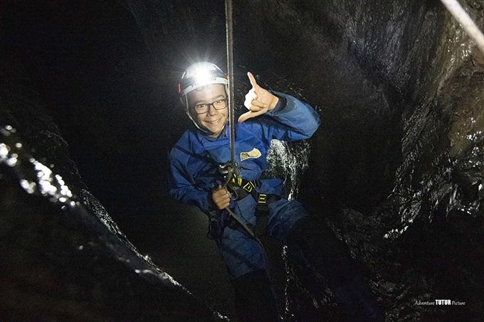 rappel canyon souterrain vicdessos