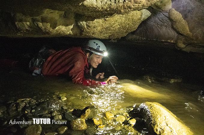 ramper canyon souterrain vicdessos