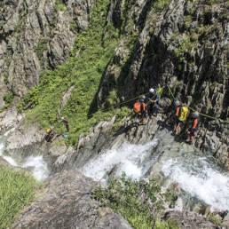 canyon estat rappel speleo canyon ariege