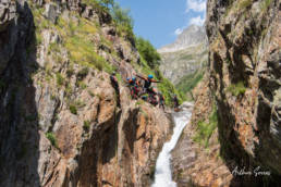 artigue canyon jump speleo canyon ariege