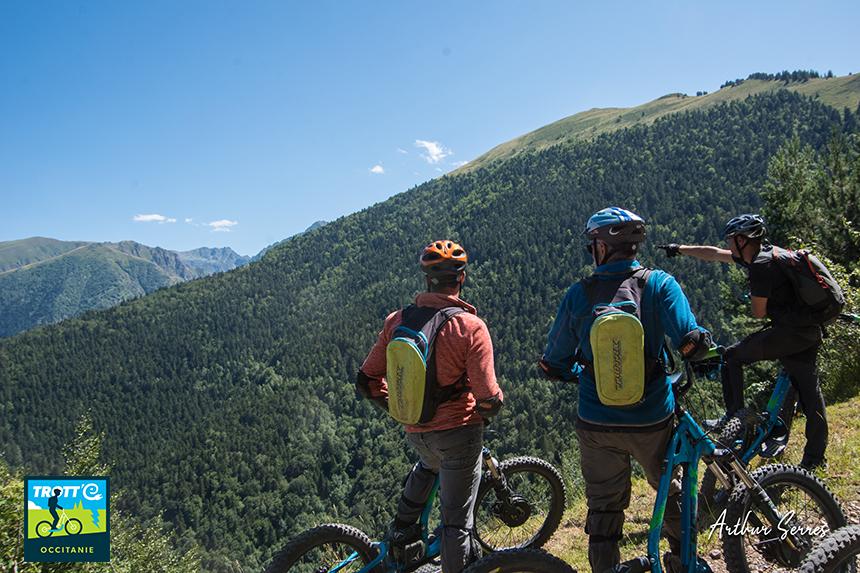 trotte occitanie sommets partenaire speleo canyon ariege