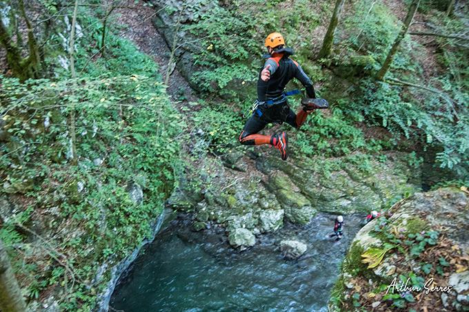 kozjak canyon jump