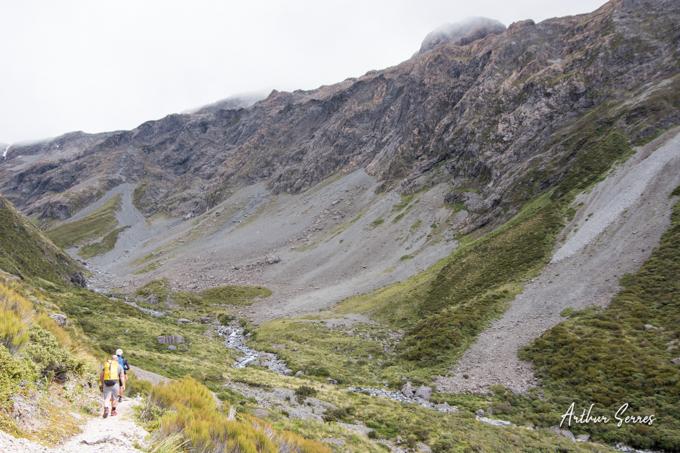ottira vallée nouvelle zélande canyoning
