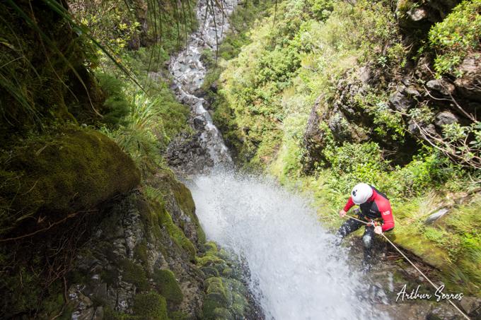 Cascade canyoneer nouvelle zélande canyoning
