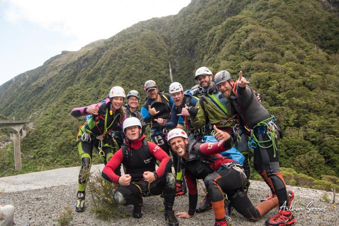 equipe canyoning festival new zealand