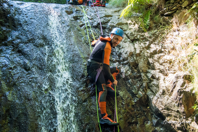 cascade rappel speleo canyon ariege canyoning