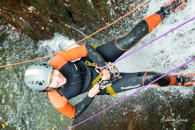 canyoning speleo canyon ariege