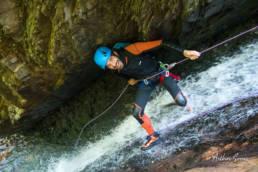 canyoning argensou speleo canyon ariege