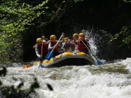 oxygen aventure rafting aude